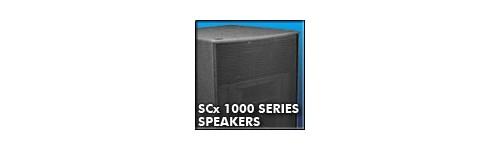 SCx 1000 Series Speakers