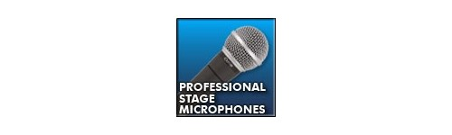 MICROFOANE CU FIR PROFESIONALE- STAGE MICROPHONES, WHIRED